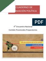 Cuaderno de Formación Política