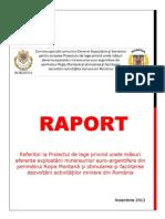 Raport Rosia Montana