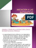 Iniciacion a Las Matematicas