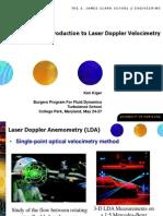Introduction to Laser Doppler Velocimetry