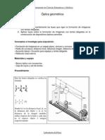 Optica Geometrica Banco Optico y Lentes
