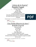 CITRATO--- ML Libros de Fogwill