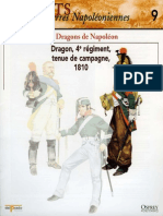 Osprey - Delprado - Soldats Des Guerres Napoleoniennes - 009 - Les Dragons de Napoleon - By Jinox
