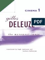 Deleuze - Cinema 1 The Movement-Image