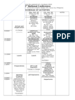 2nd National Conference SCHEDULE OF ACTIVITIES.doc