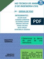 EXPO DERIVA DE PISO.pptx