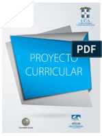 Proyecto Curricular Uca 2013