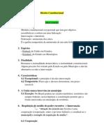 Direito Constitucional (anotações sala de aula)