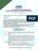 decreto no  406-88 - seguridad laboral