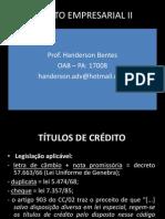 DIREITO EMPRESARIAL II REVISÃO