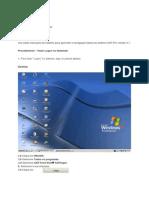 Instruções de trabalho com sistema SAP