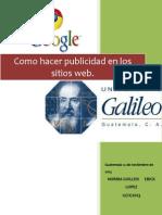 Tarea Como Hacer Publicidad en La Web