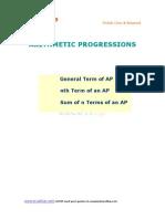 10 Math Arithmetic Progression