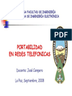 Portabilidad en Redes Telefonicas