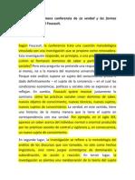 Reseña Foucault - la verdad -1
