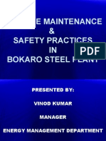 Gas Line Maintenance & Safety Practices in Bokaro Steel Plant