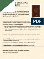DICCIONARIO BIBLICO DEL ESPÍRITU