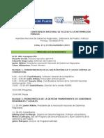 Programa CONAC 2013