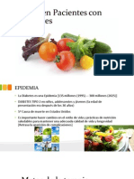 Dieta en Pacientes Con Diabetes