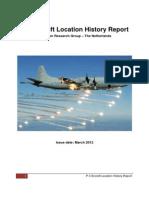 P-3 Aircraft Location History