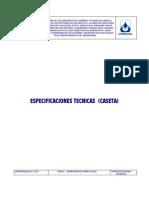 Especificaciones Tecnicas Construccion Caseta