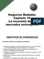 10.- La incursión de los mercados extranjeros