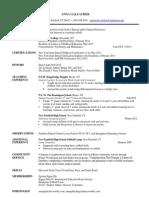 resume-anna gallacher-2013