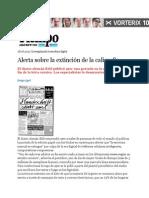 Diario en Cursiva (Se Pierde La Escritura a Mano)