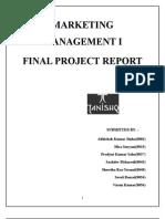 Marketing Management i Final Project Report