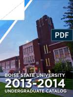 BSU.pdf Boise State University catalog