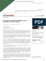 A relação das políticas públicas com a ascensão da classe média _ GGN