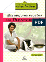 Mis Mejores Recetas Con TMX 31 Por Cristina Galiano