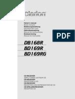 Manual Db168r Spa
