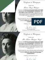 Certificados de Participação - II SEP