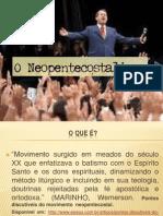 NEOPENTECOSTALISMO - ICE de João Lisboa