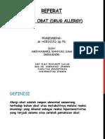 Referat Drug Allergy