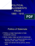 Politics 1890 to 1918.PPT