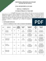 EDITAL DE RETIFICAÇÃO COMPLETO