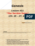 11. The Terrible Twins (Genesis 25