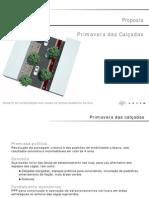 Projeto Primavera das Calçadas