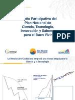 SENESCYT SENPLADES Presentacion Metodologia 30092011 1