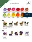 Pintura a Base de Frutas y Verduras