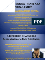 6. Conferencia Control mental de Ansiedad vs Estres Dr Carreño