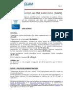 Ácido acetil salicílico