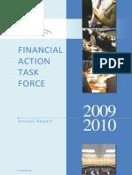 FATF ◊ GAFI. Annual Report 2009 - 2010.