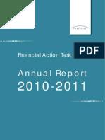 FATF ◊ GAFI. Annual Report 2010 - 2011.