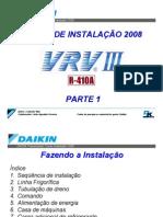 1_Curso Instalação VRV III R410A.Instalação.rev0