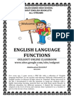 English Language Functions