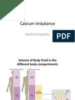 Calcium Imbalance