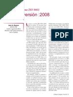 Forum Calidad Nueva Version Iso 9001 2008